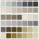 shades of taupe, grey, green PMS 427 - 467