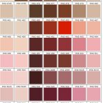 shades of brown and pink color charts PMS 468 - 5155