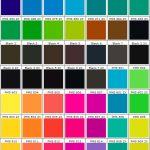 color charts PMS 4852 - 8142