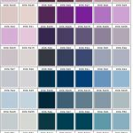 shades of purple, blue, grey color chart PMS 5165 - 5507