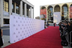 Event rug for the New York City Ballet Fall Gala to Celebrate Ballet and Fashion