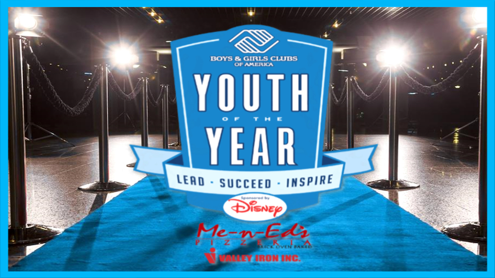 Youth Of The Year Event Rug And Brochure Images