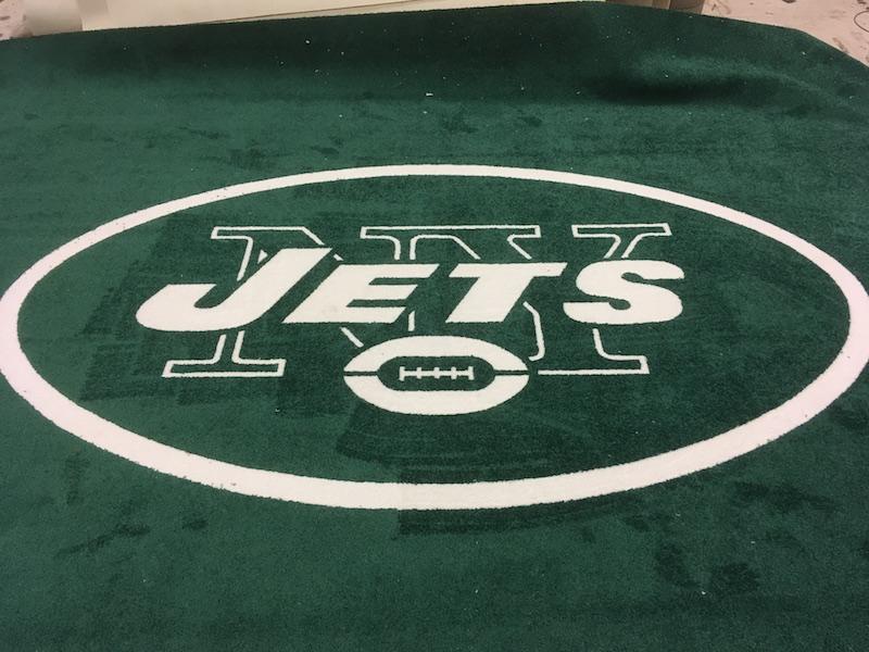 NY Jets Logo Rug