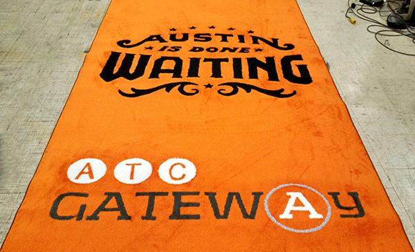 ATC Event Logo Aisle Runner