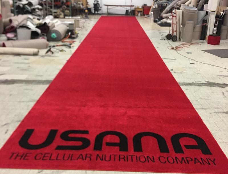 USANNA logo Aisle Runner