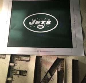 creating a logo rug from the print logo