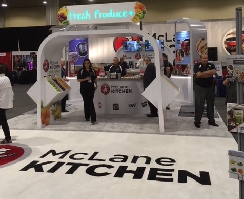McLane Kitchen logo rug